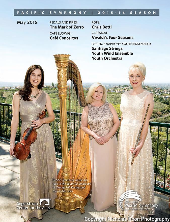 Pacific Symphony Program covers, 12/2015 - 12/2016