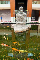 Pond In The Mall In Miami