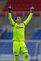 Reading's Cabral celebrating after Reading's Liam Moore scores his side's first goal  <br /> <br /> Photographer David Horton/CameraSport<br /> <br /> The EFL Sky Bet Championship - Reading v Middlesbrough - Tuesday July 14th 2020 - Madejski Stadium - Reading<br /> <br /> World Copyright © 2020 CameraSport. All rights reserved. 43 Linden Ave. Countesthorpe. Leicester. England. LE8 5PG - Tel: +44 (0) 116 277 4147 - admin@camerasport.com - www.camerasport.com