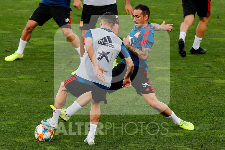 Paco Alcacer during the Trainee Session at Ciudad del Futbol in Las Rozas, Spain. September 02, 2019. (ALTERPHOTOS/A. Perez Meca)