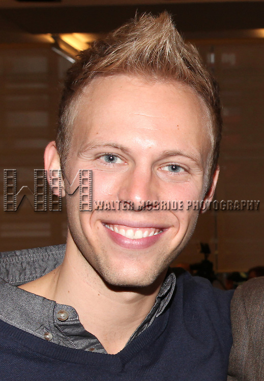 Justin Paul attends the Meet & Greet for 'A Christmas Story, The Musical' at the New 42nd Street Studios on 10/22/2012 in New York City.