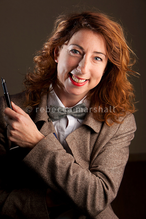 Jenny Colgan, author, poses for the photographer at her home in Juan-les-Pins, France, 17 January 2012.<br />