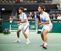 13-02-13, Tennis, Rotterdam, ABNAMROWTT, Robin Haase, Igor Sijsling