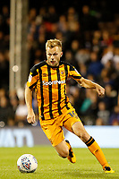 Sebastian Larsson of Hull City on the ball  during the Sky Bet Championship match between Fulham and Hull City at Craven Cottage, London, England on 13 September 2017. Photo by Carlton Myrie.