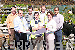 PLANS: Looking over the plans for the new Ballyseedy Garden Centre on Wednesday 18th April at the old Garden Centre. Front l-r: Ger Lynch (Declan O'Sullivan Quantity Surveyor), Pat O'Leary (Malachy Walsh and Partners) and Bernie Falvey (Ballyseedy Garden Centre). Back l-r: James Sugrue (Project Manager), Nathan McDonnell (Ballyseedy Garden Centre), Noel Healy (Farnes Constructions) and Jeroen Smiemans..