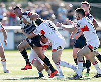 Nick Slyney in action for London during the Super 8 Qualifying game between London Broncos and Hull Kingston Rovers at Ealing Trailfinders, Ealing, on Sun Sept 11, 2016