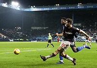 Bolton Wanderers' Yanic Wildschut crosses under pressure from Sheffield Wednesday's Lucas Joao <br /> <br /> Photographer Andrew Kearns/CameraSport<br /> <br /> The EFL Sky Bet Championship - Sheffield Wednesday v Bolton Wanderers - Tuesday 27th November 2018 - Hillsborough - Sheffield<br /> <br /> World Copyright © 2018 CameraSport. All rights reserved. 43 Linden Ave. Countesthorpe. Leicester. England. LE8 5PG - Tel: +44 (0) 116 277 4147 - admin@camerasport.com - www.camerasport.com