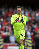 Bournemouth's Asmir Begovic<br /> <br /> Photographer Rob Newell/CameraSport<br /> <br /> The Premier League - Arsenal v AFC Bournemouth - Saturday 9th September 2017 - The Emirates - London<br /> <br /> World Copyright &copy; 2017 CameraSport. All rights reserved. 43 Linden Ave. Countesthorpe. Leicester. England. LE8 5PG - Tel: +44 (0) 116 277 4147 - admin@camerasport.com - www.camerasport.com