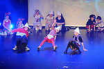 Children who took part in the Fit Kids Fit Teens Disney Goes Hip Hop show in the TLT. Photo: Colin Bell/pressphotos.ie