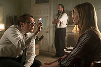 Insidious: The Last Key (2018) <br /> Angus Sampson, Leigh Whannell    <br /> *Filmstill - Editorial Use Only*<br /> CAP/MFS<br /> Image supplied by Capital Pictures