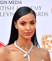 Maya Jama<br /> at Virgin Media British Academy Television Awards 2019 annual awards ceremony to celebrate the best of British TV, at Royal Festival Hall, London, England on May 12, 2019.<br /> CAP/JOR<br /> ©JOR/Capital Pictures