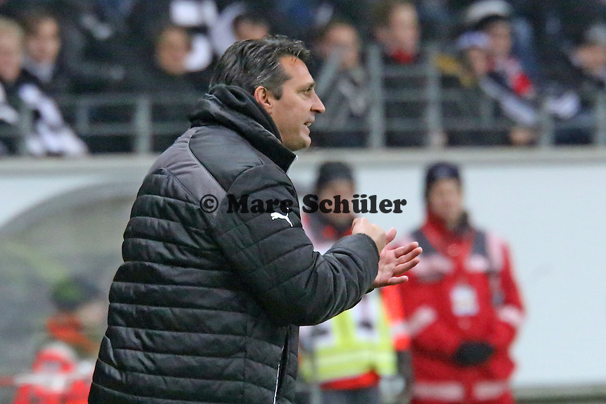Trainer Alois Schwarz (SVS) - Eintracht Frankfurt vs. SV Sandhausen, DFB-Pokal, Commerzbank Arena