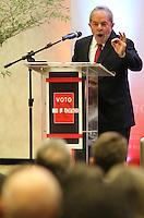 """PORTO ALEGRE, RS, 05.06.2014 - PALESTRA O BRASIL DA PRÓXIMA DÉCADA - LUIS INACIO LULA DA SILVA - Luis Inácio Lula da Silva, ex-presidente do Brasil, palestra """"O Brasil da Próxima Década"""" em evento comemorativo de 10 anos da Revista Voto, no Hotel Deville em Porto Alegre, nesta quinta-feira, 05. (Foto: Pedro H. Tesch / Brazil Photo Press)."""