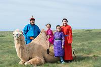 Camel riding_Gobi Desert