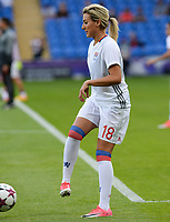 20170601 - CARDIFF , WALES : Lyon's Claire Lavogez pictured during a womensoccer match between the teams of  Olympique Lyonnais and PARIS SG, during the final of the Uefa Women Champions League 2016 - 2017 at the Cardiff City Stadium , Cardiff - Wales - United Kingdom , Thursday 1  June 2017 . PHOTO SPORTPIX.BE | DAVID CATRY