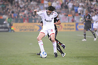 AC Milan forward Filippo Inzaghi (9)   DC United defeated AC. Milan 3-2 at RFK Stadium, Wednesday May 26, 2010.