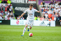 Federico Fernandez of Swansea City in action during the Barclays Premier League match between Swansea City and Manchester City played at the Liberty Stadium, Swansea on the 15th of May  2016