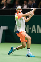 ABN AMRO World Tennis Tournament, Rotterdam, The Netherlands, 15 Februari, 2017, Dominic Thiem (AUT)<br /> Photo: Henk Koster