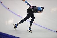 SCHAATSEN: HEERENVEEN: Thialf, World Cup, 03-12-11, 1500m B, Maria Lamb USA, ©foto: Martin de Jong