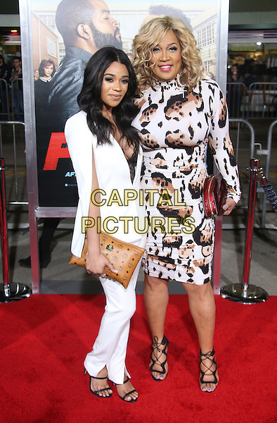13 February 2017 - Westwood, California - Tyler Whitley, Kym Whitley. &quot;Fist Fight&quot; Los Angeles Premiere held at Regency Village Theatre. <br /> CAP/ADM/FS<br /> &copy;FS/ADM/Capital Pictures