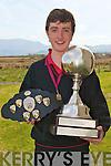 WORLD CHAMPION: John Fitzgerald, Brandon who won the An Collmisiu?n Le Ringi? Gaelacha World Championship in Glasgow at the Easter weekend at Mea?n Scoil Nua An Leith Triuigh, Castlegregory on Friday.