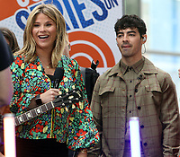 June 07, 2019   Jenna Bush, Joe Jonas, of Jonas Brothers at Today Show Concert Series to perform,  talk about new album Happiness Begins and tour in New York June 07, 2019   <br /> CAP/MPI/RW<br /> ©RW/MPI/Capital Pictures