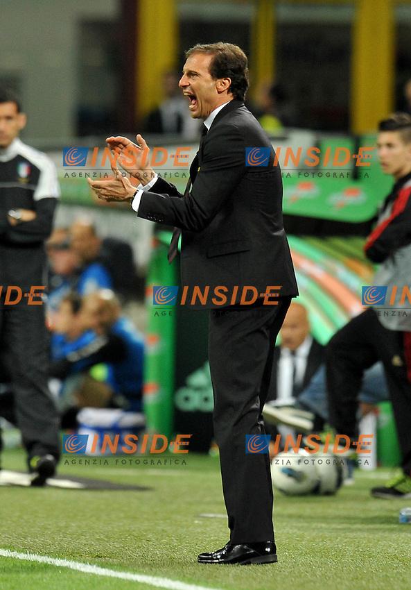 "Massimilianpo ALLEEGRI (Milan).Milano 02/05/2012 Stadio ""Giuseppe Meazza"".Serie A 2011/2012.Football Calcio Milan Vs Atalanta.Foto Insidefoto Alessandro Sabattini."