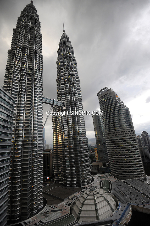 The Petronas Towers, Kuala Lumpur, Malaysia,<br /> 02-Nov-11