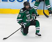 Rocco Grimaldi (North Dakota - 19) - The University of Minnesota Golden Gophers defeated the University of North Dakota 2-1 on Thursday, April 10, 2014, at the Wells Fargo Center in Philadelphia to advance to the Frozen Four final.