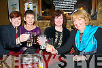 New Year's At The Horseshoe: Ringing in the New Year at The Horseshoe Restaurant, Listowel were  Aquinas O'Donnell, Joan Healy, Breda Broderick & Mary Clayton.