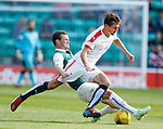 Grant Anderson fouled by Liam Henderson