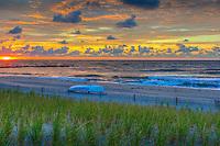 Atlantic City; Beach Surrise, Beautiful, Rhode Island Ave,  Sand; New Jersey; Seaside Resort; South Jersey; Beaches; Beautiful Coastal Views