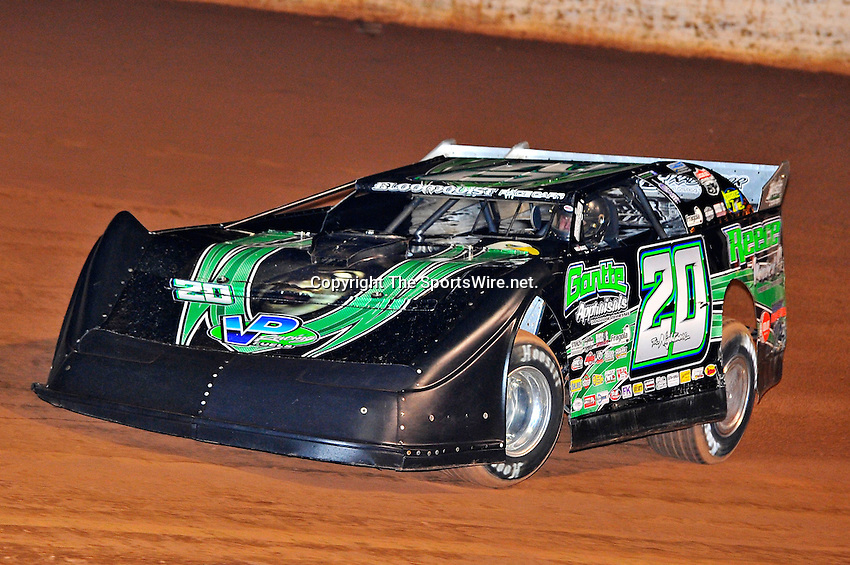 Oct 15, 2010; 7:54:50 PM;Mineral Wells,WV ., USA; The 30th Annual Dirt Track World Championship dirt late models 50,000-to-win event at the West Virginia Motor Speedway.  Mandatory Credit: (thesportswire.net)