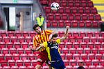 S&ouml;dert&auml;lje 2014-05-31 Fotboll Superettan Syrianska FC - &Auml;ngelholms FF :  <br /> Syrianskas Rabi Elia i nickduell med &Auml;ngelholms Muamet Asanovski <br /> (Foto: Kenta J&ouml;nsson) Nyckelord:  Syrianska SFC S&ouml;dert&auml;lje Fotbollsarena &Auml;ngelholm &Auml;FF