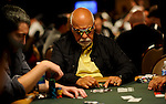 Rene Angelil plays on Day 1A of the Main Event.  He is the husband and manager of Celine Dion.