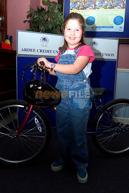 Aoife Rogers who won 1st prize with Ardee Credit Union..Picture: Paul Mohan/Newsfile