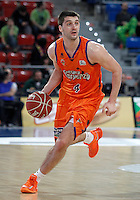 Valencia Basket Club's Stefan Markovic during Spanish Basketball King's Cup semifinal match.February 07,2013. (ALTERPHOTOS/Acero) /NortePhoto