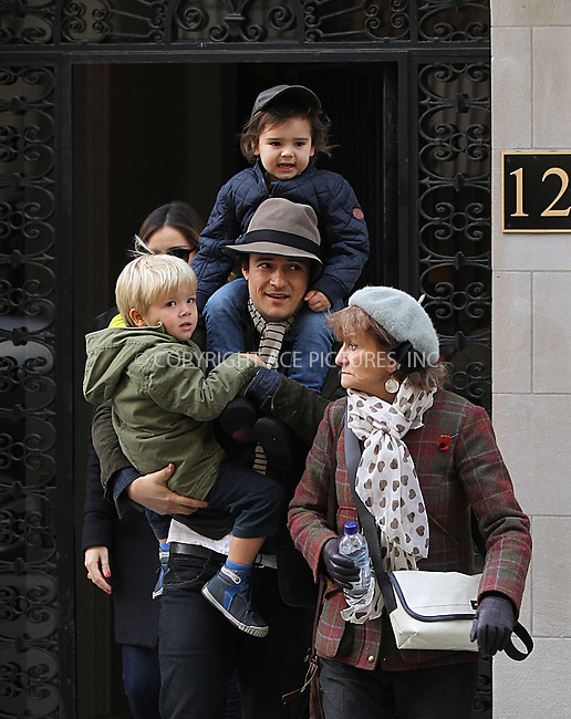 WWW.ACEPIXS.COM<br /> <br /> December 24 2013, New York City<br /> <br /> Miranda Kerr, Orlando Bloom, Flynn Bloom and some family and friends set out from their Upper East Side apartment on December 24 2013 in New York City<br /> <br /> By Line: Zelig Shaul/ACE Pictures<br /> <br /> <br /> ACE Pictures, Inc.<br /> tel: 646 769 0430<br /> Email: info@acepixs.com<br /> www.acepixs.com