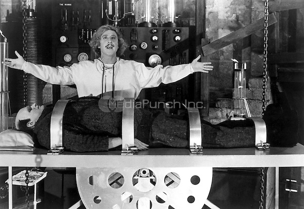 GENE WILDER<br /> in Young Frankenstein<br /> *Editorial Use Only*<br /> Ref: FB<br /> www.capitalpictures.com<br /> sales@capitalpictures.com<br /> Supplied by Capital Pictures / MediaPunch