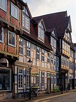 Fachwerkhäuser in der Bergstraße, Celle, Niedersachsen, Deutschland, Europa<br /> half timbered houses, Berg St.