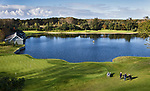 WASSENAAR  (NETH.) - Puttinggreen en driving range Golfclub Groendael in Wassenaar. COPYRIGHT KOEN SUYK