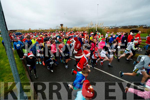 The Santa Run at Tralee Bay Wetlands on Sunday morning last.