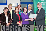 AWARD: Member's of Kerry Eduction Service winners of the National IPass Annual Payroll 2008 Award for Excellence in the Public Sector receiving their plaque from Barney O'Reilly (CEO K.E.S.) at Riverside House on Tuesday l-r: Noreen McEnery, Judith Hayes (Head of Finance and Administration), Ancilla O'Regan, Kay Loughnane, Assumptia Nolan, Patricia Healy and Barney O'Reilly (CEO K.E.S.).   Copyright Kerry's Eye 2008