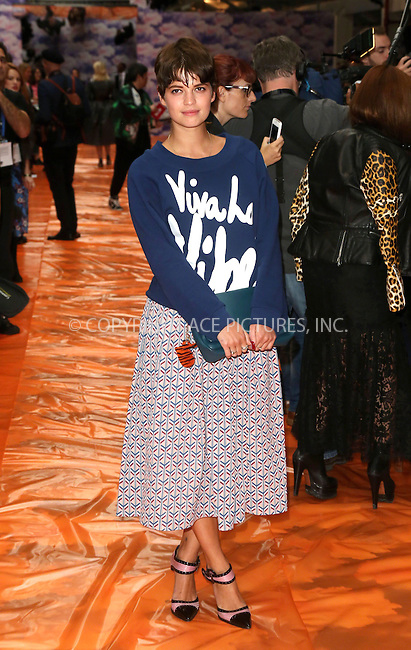 WWW.ACEPIXS.COM<br /> <br /> US Sales Only<br /> <br /> Pixie Geldof at the House of Holland Show during London Fashion Week SS14 on September 14 2013  in London<br /> <br /> By Line: Famous/ACE Pictures<br /> <br /> <br /> ACE Pictures, Inc.<br /> tel: 646 769 0430<br /> Email: info@acepixs.com<br /> www.acepixs.com