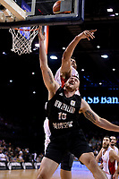 New Zealand Tall Blacks&rsquo; Tom Vodanovich in action during the FIBA World Cup Basketball Qualifier - NZ Tall Blacks v Syria at TSB Bank Arena, Wellington, New Zealand on Sunday 2 2018. <br /> Photo by Masanori Udagawa. <br /> www.photowellington.photoshelter.com