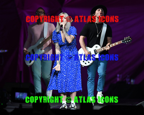 SUNRISE FL - MARCH 01: Julia Michaels performs at BB&T Center on March 1, 2019 in Sunrise, Florida. (Photo by Larry Marano © 2019