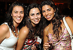 From left: Catalina Nino, Camila Zies and Carolina Cardoso at the kick-off party for the Latin Wave: New Films From Latin America festival a the Museum of Fine Arts Houston Thursday April 29,2010.. (Dave Rossman Photo)
