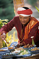 "Asie/Thaïlande/Env de Chiang Mai : Réception à la ""Mae Sa Valley Resort"" - Mr Anucha"