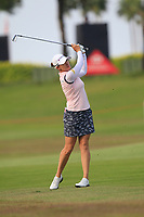 Sarah Jane Smith (AUS) in action on the 10th during Round 3 of the HSBC Womens Champions 2018 at Sentosa Golf Club on the Saturday 3rd March 2018.<br /> Picture:  Thos Caffrey / www.golffile.ie<br /> <br /> All photo usage must carry mandatory copyright credit (&copy; Golffile | Thos Caffrey)