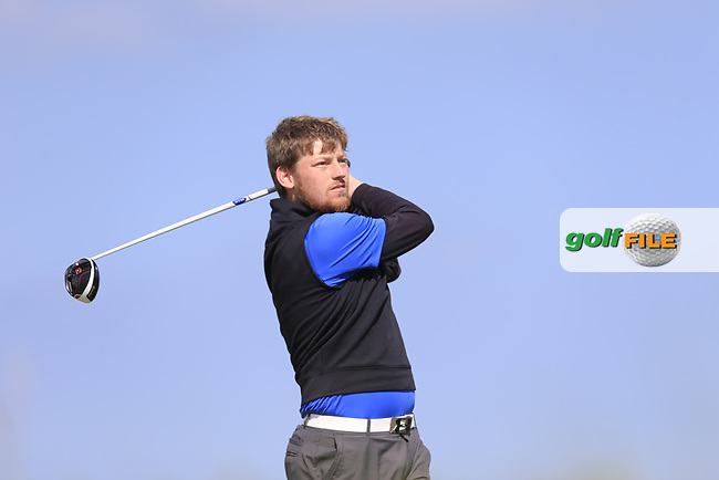 Ben Murray (Waterford Castle) during the 1st round of the East of Ireland championship, Co Louth Golf Club, Baltray, Co Louth, Ireland. 02/06/2017<br /> Picture: Golffile | Fran Caffrey<br /> <br /> <br /> All photo usage must carry mandatory copyright credit (&copy; Golffile | Fran Caffrey)